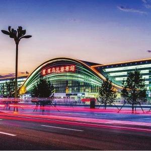 内蒙古乌兰察布高铁站